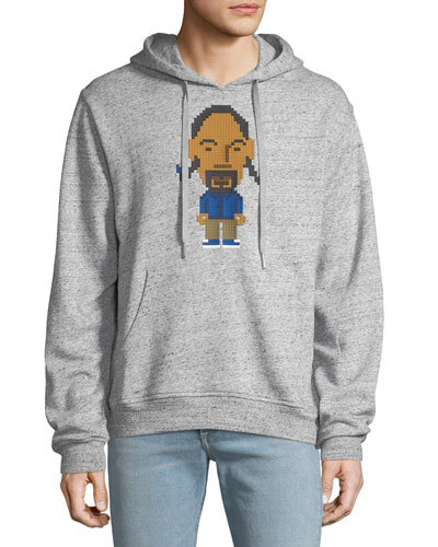 Men's Foshizz Hoodie with Front Graphic