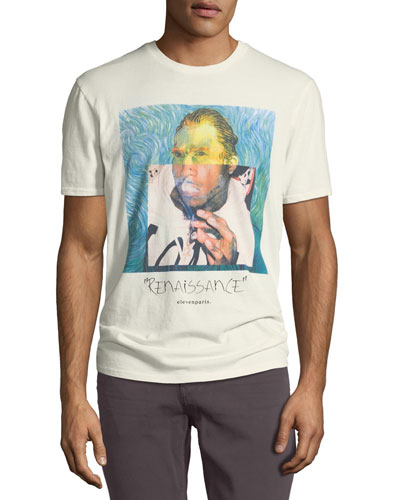 Men's Van Gogh Graphic T-Shirt