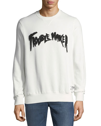Men's Trouble Maker Graphic Sweatshirt