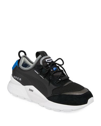 Men's Ader Error Leather Trainer Sneakers