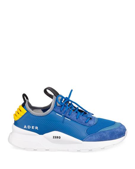 177094e888c759 Puma Men S Ader Error Leather Trainer Sneakers In Blue