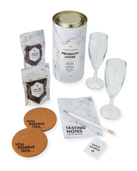 Men's Society Prosecco Lover's Accessory & Tasting Gift