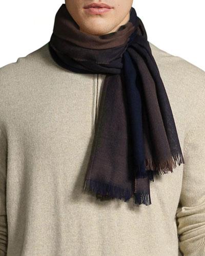 Men's Extrafine Merino Wool Scarf