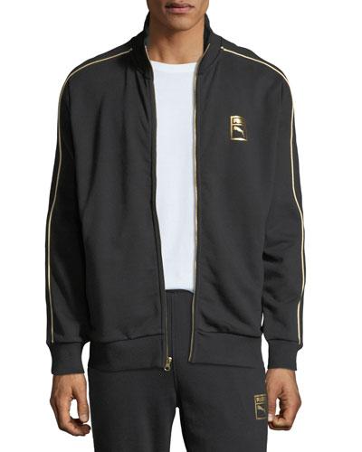 Men's Chains T7 Zip-Front Track Jacket