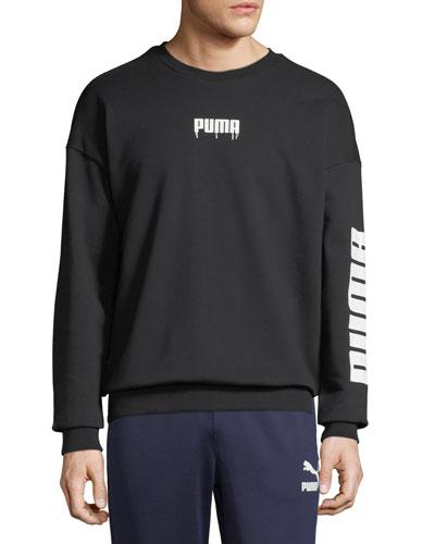 Men's Super Logo Graphic Sweatshirt