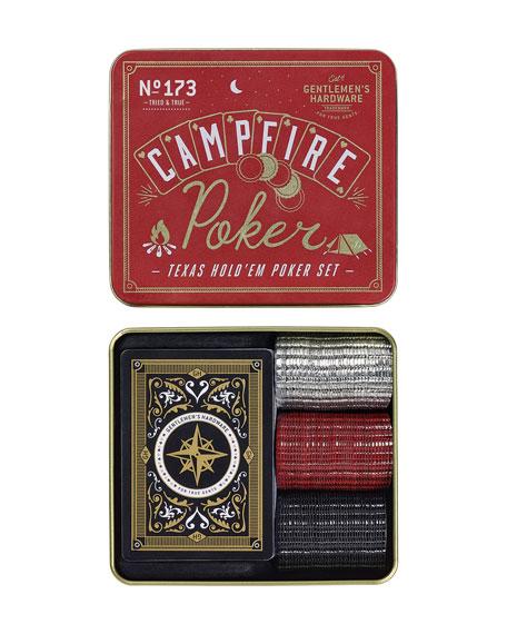 Campfire Texas Poker Travel Game Set