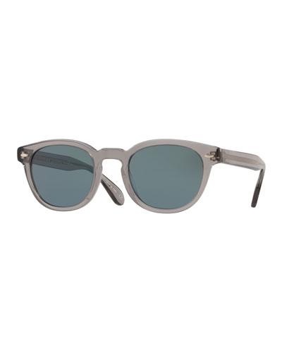 Men's Sheldrake Round Photochromic Sunglasses - Workman Gray