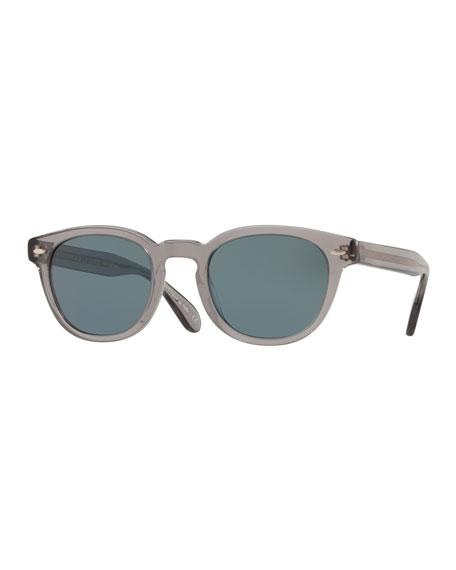 Oliver Peoples Men's Sheldrake Round Photochromic Sunglasses -