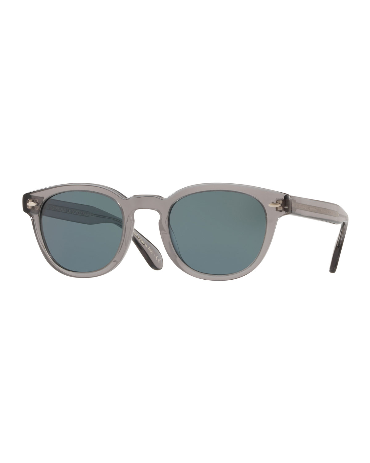ee84a91d54 Oliver PeoplesMen s Sheldrake Round Photochromic Sunglasses - Workman Gray