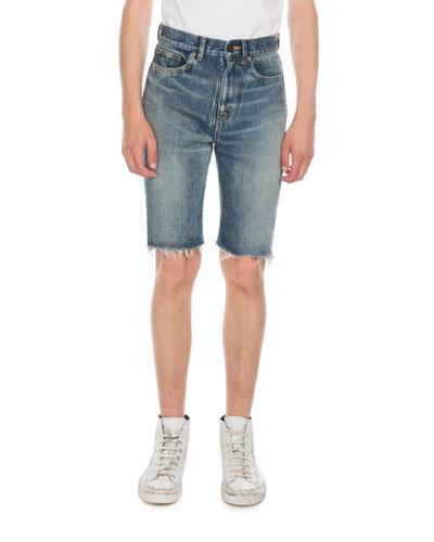 Men's Miami Spray Jean Shorts