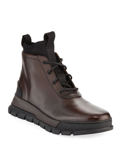 Men's Concept Leather Chukka Boots