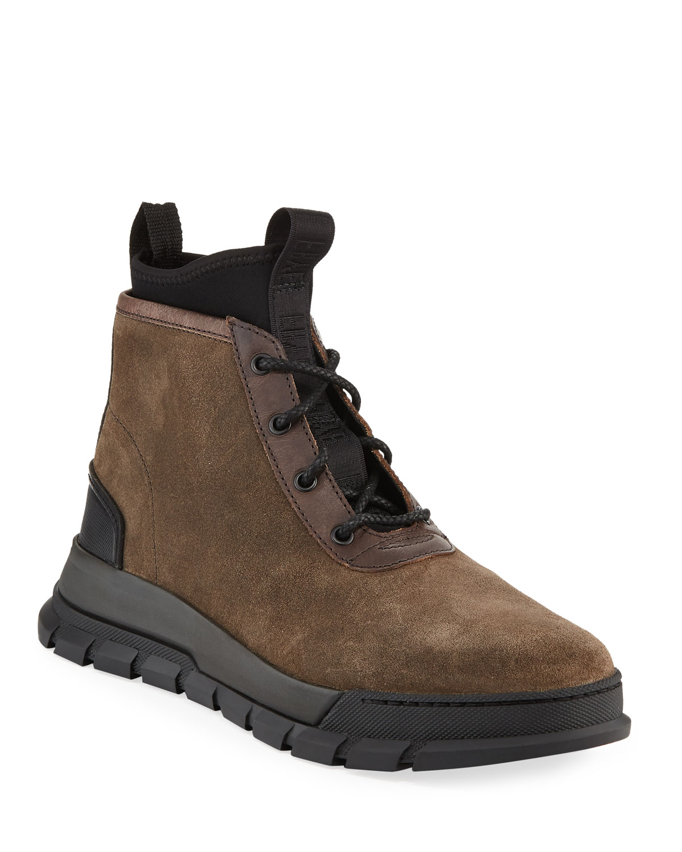 Frye Men's Concept Suede Chukka Boots