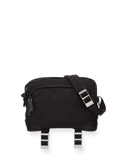 Men's Nylon Crossbody Bag