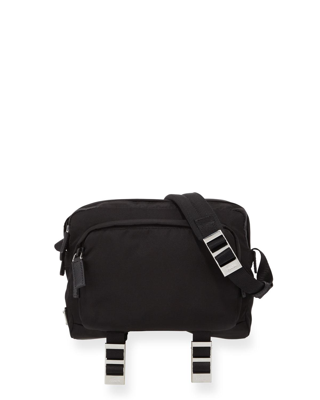 1aa44f4cae9f Prada Men's Nylon Crossbody Bag | Neiman Marcus