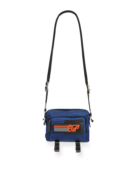 Prada Men's Nylon Messenger Bag