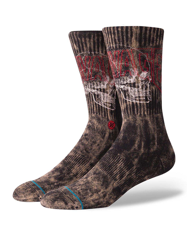 Stance Men's Savage Skull Graphic Socks
