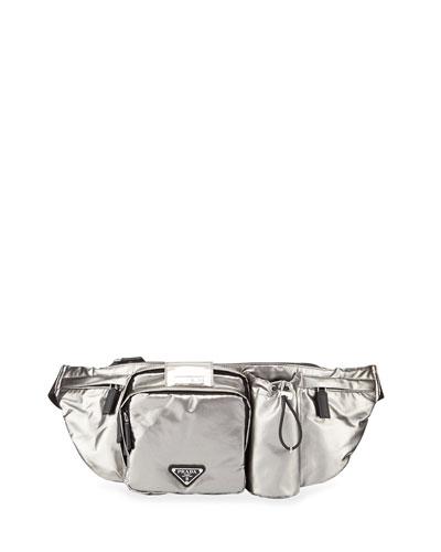 Men's Nylon Pocket Belt Bag