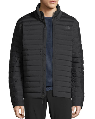 Men's Stretch Goose-Down Quilted Water-Repellant Jacket