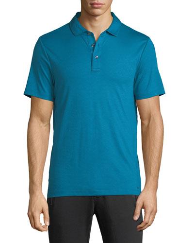 Men's Sleek Jersey Polo Shirt