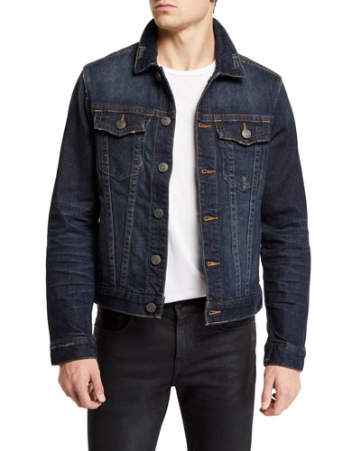 Men's Danny Dark Tunnel Denim Jacket