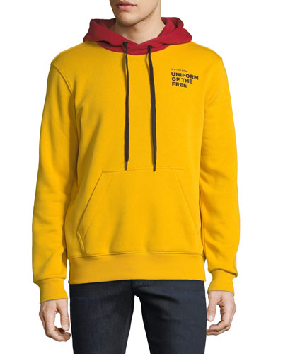 Men's Core Uniform of the Free Two-Tone Hooded Sweatshirt