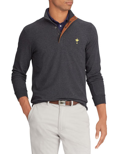 Men's Wednesday Ryder Cup  Pullover Water-Repellent Golf Shirt