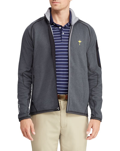 Men's Ryder Cup Power-Stretch Zip-Front Wind Golf Jacket
