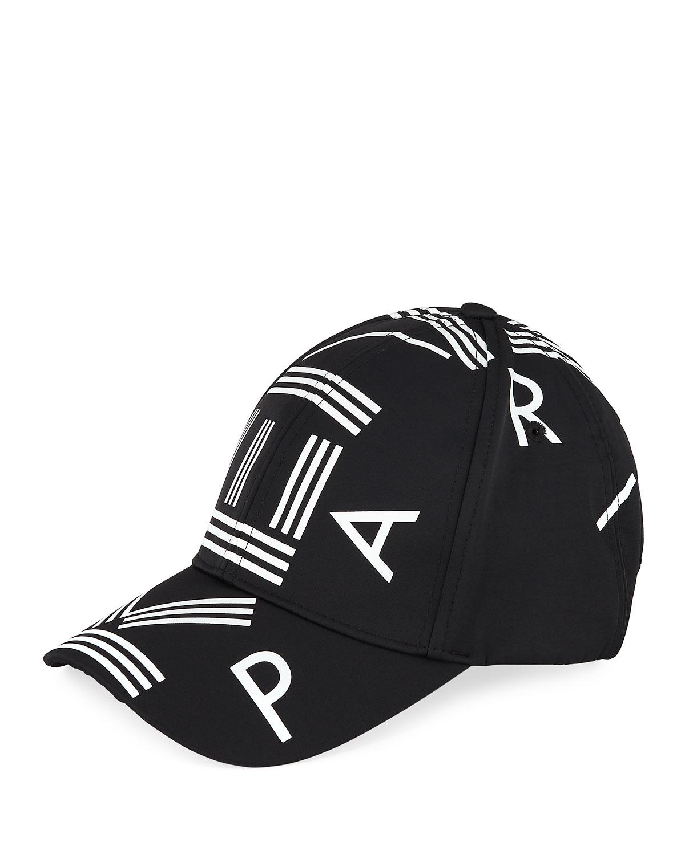 b70446f8644 Kenzo Men s Logo-Print Nylon Baseball Cap