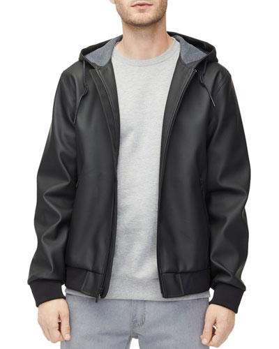 Men's Diego Rubberized Zip-Front Hoodie