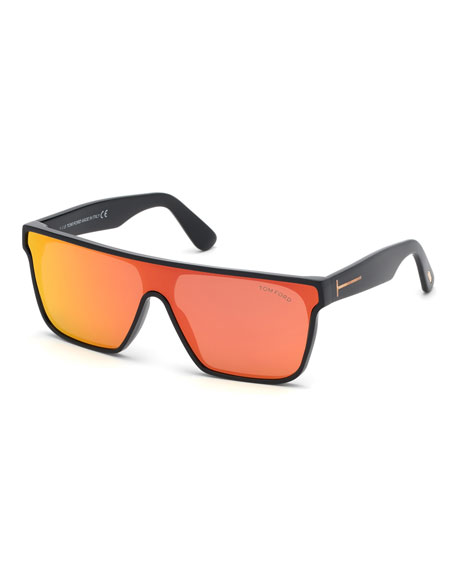36490e0ec3 Tom Ford Men S Wyhat Square Shield Sunglasses
