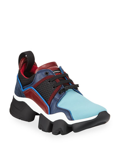 Men's Jaw Low-Top Multicolor Runner in Leather