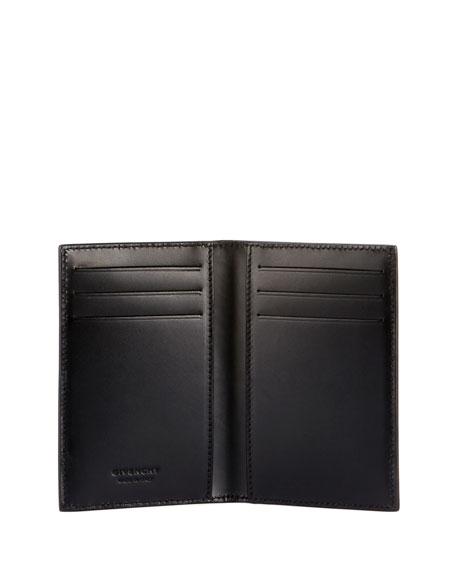 GIVENCHY Cardholders MEN'S SPLATTER LOGO-FRONT CARD HOLDER