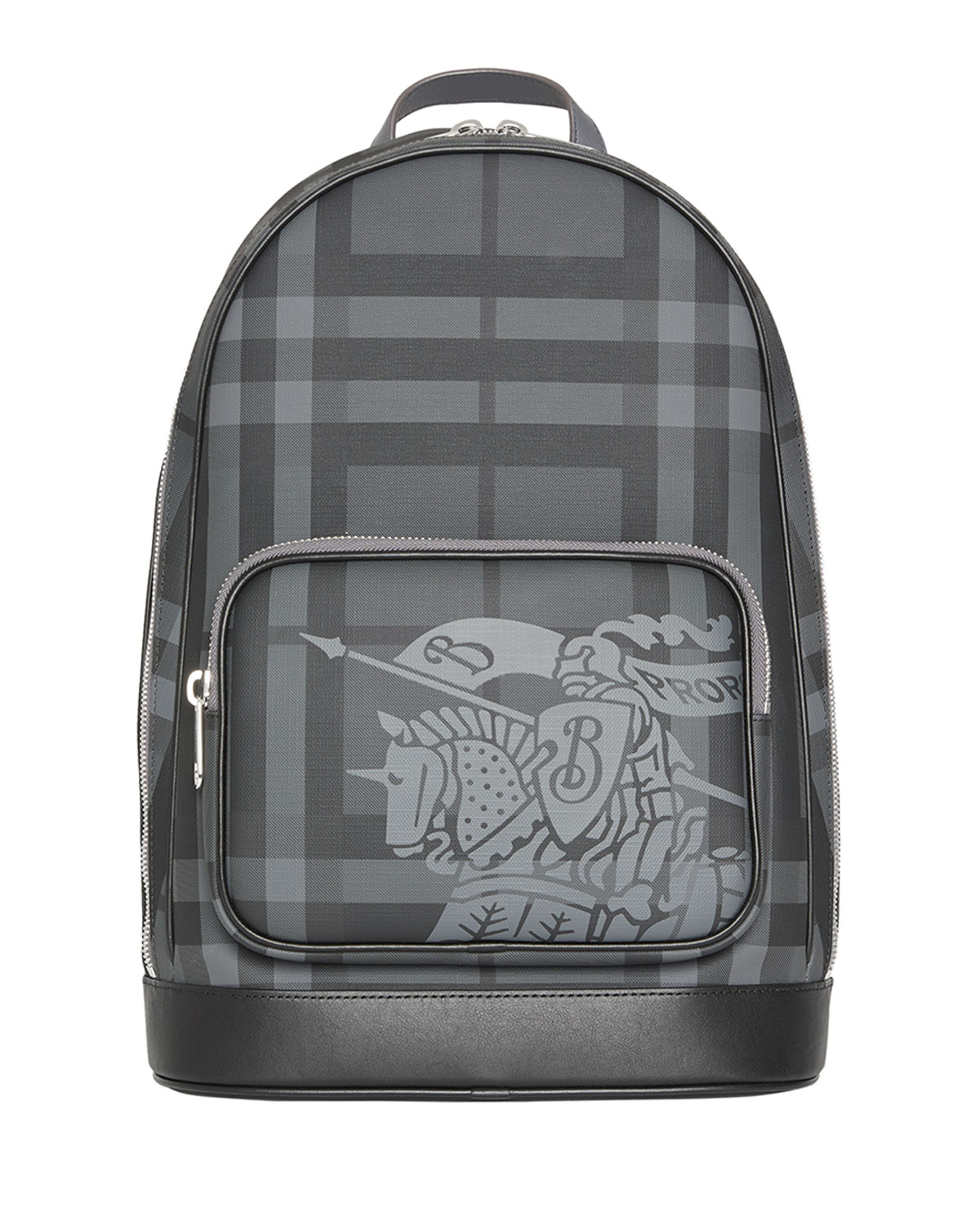 d555622fd251 Burberry Men s Rocco Logo-Print Faux-Leather Backpack