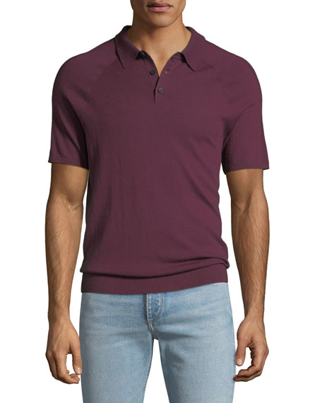 Michael Kors Men's Sleeve-Detail Polo Shirt