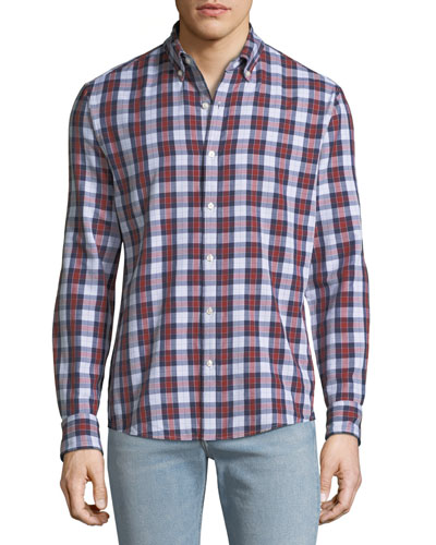 Men's Curt Double-Face Slim Sport Shirt
