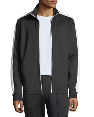4cbee8a19 Michael Kors Men s Lookbook Two-Tone Track Jacket