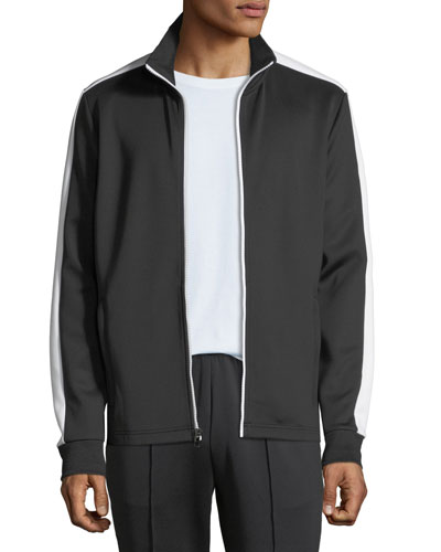 Men's Lookbook Two-Tone Track Jacket