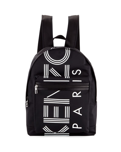 Men's Logo Nylon Backpack