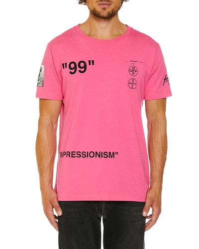 Men's Impressionist Boat Slim T-Shirt