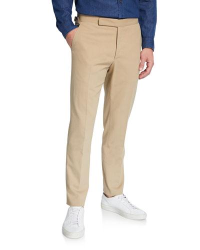 Men's RLX Gregory Flat-Front Pants  Tan