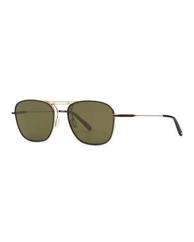 Men's Canal Square Aviator Sunglasses