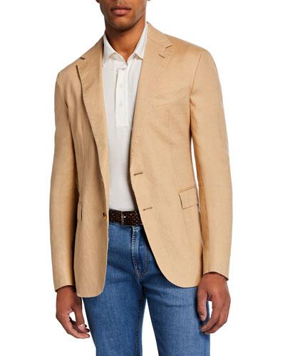 Men's Hadley 2-Button Linen Jacket