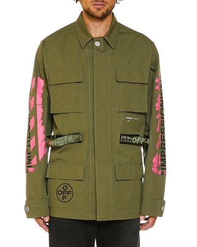 Men's Arrows Field Military Jacket