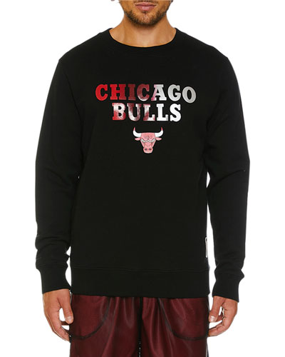 Men's Chicago Bulls Graphic Shades Crewneck Sweatshirt
