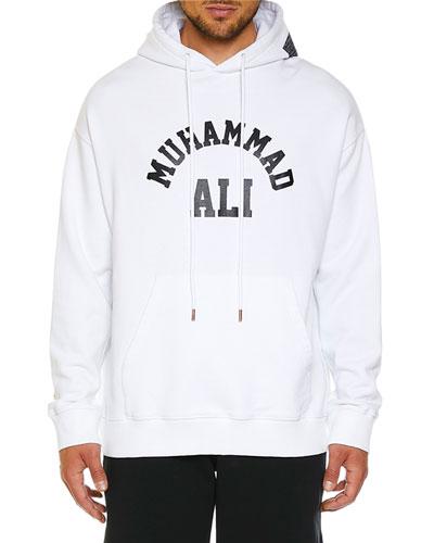 Men's Ali Square Graphic Hoodie