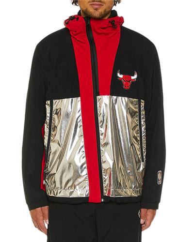Men's Chicago Bulls Wind-Resistant Jacket