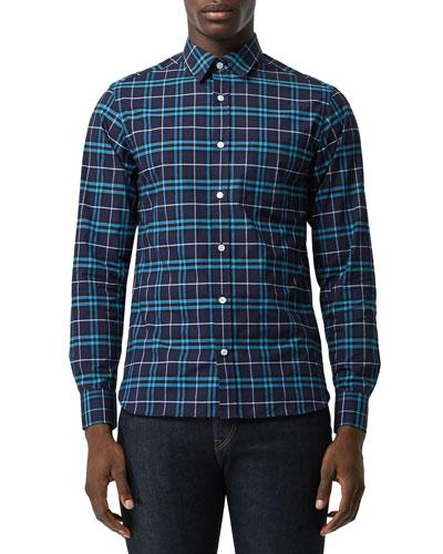 Men's George Plaid Sport Shirt