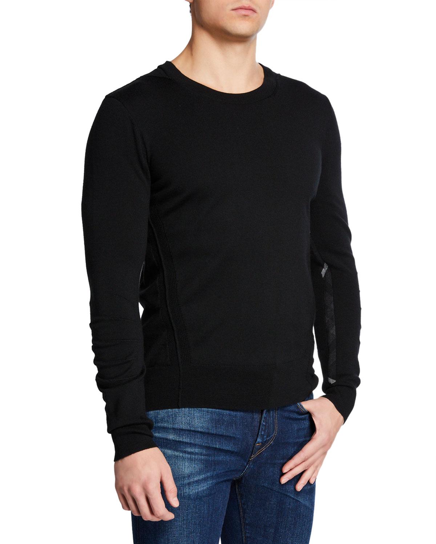 238da54bd Burberry Men s Carter Wool Crewneck Sweater