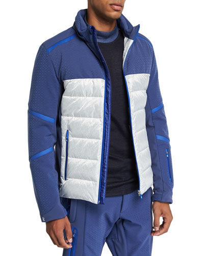 Men's Down Ski Jacket w/ Tuckaway Hood