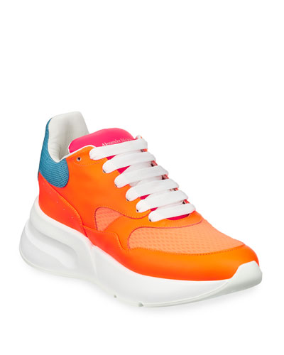 Men's McQueen Runner Shoes in Leather